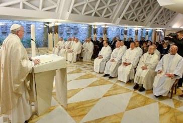 """Ferenc pápa homíliája Gyümölcsoltó Boldogasszony ünnepén: a keresztény legyen az """"igen"""" embere"""