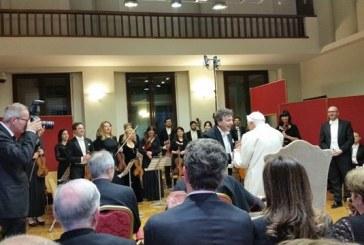 Mozart-vonósnégyes szólt a Vatikánban XVI. Benedek 89. születésnapján