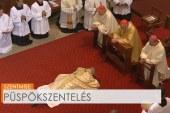 Pintér Gábor atya püspökké szentelése Vácott