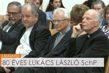 80 éves Lukács László SchP