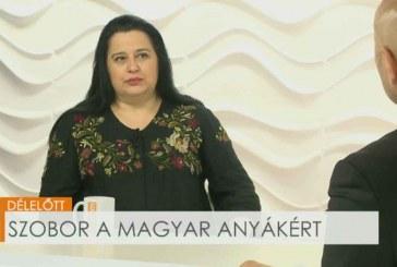 Szobor a magyar anyákért