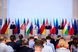 V4-csúcstalálkozó Varsóban