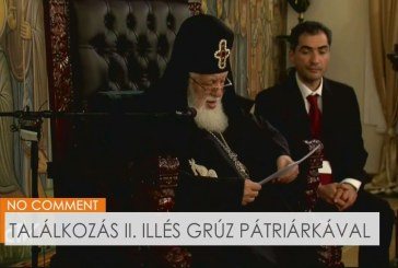 Találkozás II. Illés grúz pátriárkával