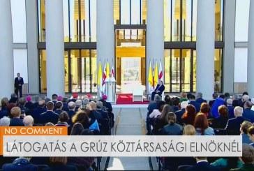 Látogatás a grúz köztársasági elnöknél