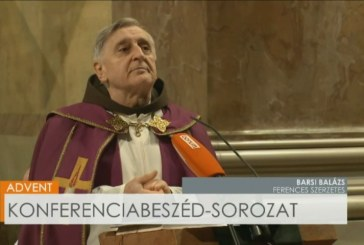Barsi Balázs atya konferenciabeszéde Advent második vasárnapján