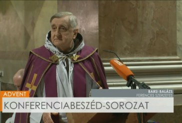 Barsi Balázs atya konferenciabeszéde Advent negyedik vasárnapján