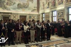 Diákokat fogadott Ferenc pápa a Vatikánban