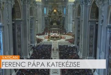 Ferenc pápa katekézise