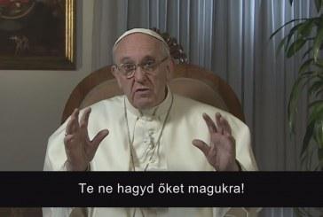 Intentio – Ferenc pápa februári videoüzenete