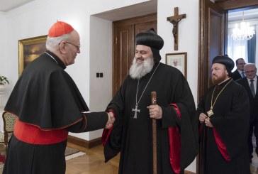 II. Ignác Efrémet fogadta Erdő Péter bíboros