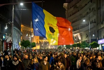 Ismét tüntettek Romániában