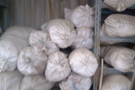 100 tonna illegális takarmányt foglaltak le