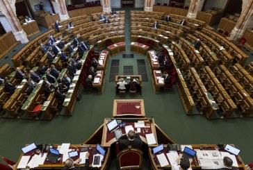 Hétfői ülésnap a parlamentben
