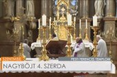 Szentmise a Pesti Ferences Templomban: Tóth Vencel