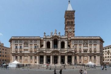 """Nagyszombat az """"Anya órája"""" – szertartás a S. Maria Maggiore bazilikában"""