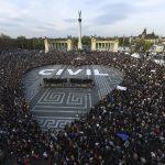 Újra tüntettek Budapesten