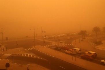 Pusztító homokvihar tombol