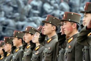 Hadgyakorlat Észak-Koreában