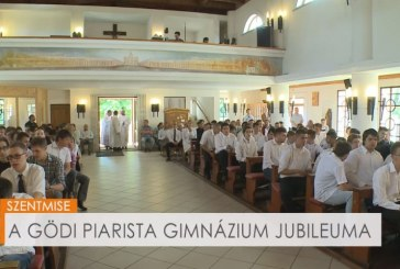 A Gödi Piarista Gimnázium jubileuma