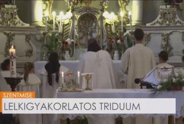 Lelkigyakorlatos triduum Déván – 3. nap