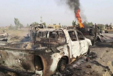 Iszlám konvojt bombáztak