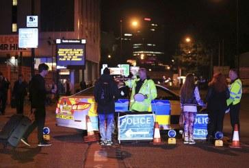 Robbantás Manchesterben