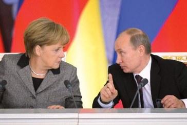 Találkozott Merkel és Putyin