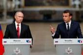 Putyint fogadta Macron