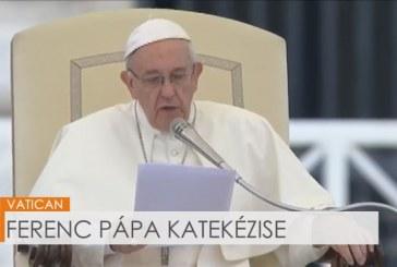 Ferenc pápa katekézise az audiencián