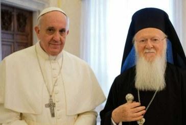 Ferenc pápa Bertalan pátriárkának üzent