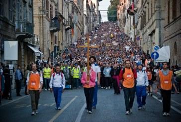 A Macerata – Loreto zarándoklat résztvevőinek üzent a pápa