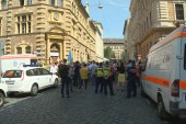 Tüntettek a mentődolgozók