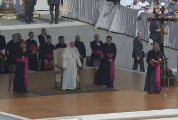 Ferenc pápa: Nem élhetünk szeretet nélkül