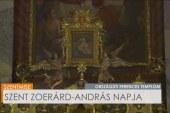 Szentmise az Országúti Ferences templomban: Harsányi Ottó