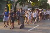 Megkezdődött az Ifjúsági Gyalogos Zarándoklat