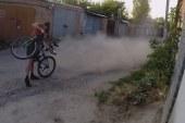 Száguldás kerékpáron