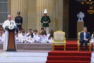 Ferenc pápa: Legyőzhetők Kolumbia nehézségei!