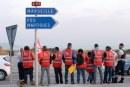 Blokáddal tiltakoztak a francia reform ellen