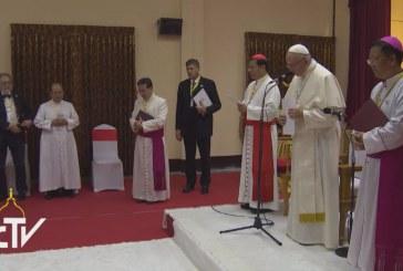 Püspököket köszöntött a Szentatya