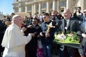 Magyar zarándokok a pápánál