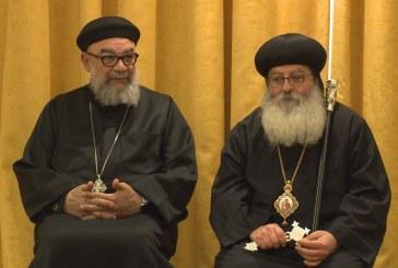 Beiktatták a kopt püspököt