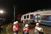 Vonatbaleset Németországban
