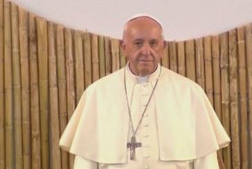 Bennszülötteknél járt a pápa