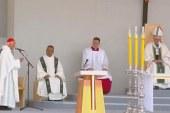 Pápai szentmise Chilében