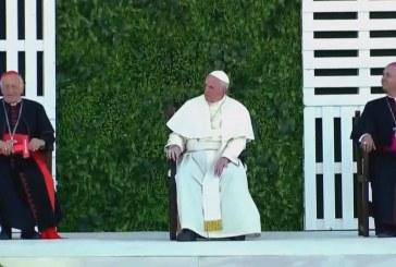 A fiatalokhoz szólt Ferenc pápa