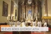 90 éves Béres György atya