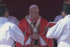 Fiatalokhoz szólt a pápa
