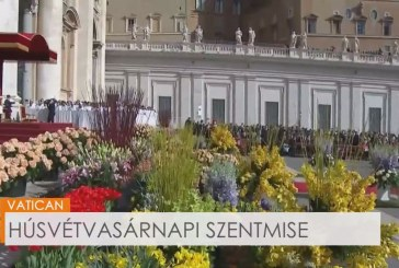 Ferenc pápa húsvétvasárnapi szentmiséje