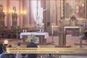 Szentmise a szombathelyi Sarlós Boldogasszony-székesegyházból: Hancz Gábor Tamás OPRAEM