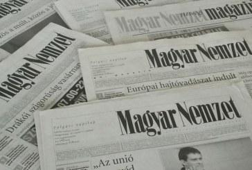 Megszűnik a Magyar Nemzet